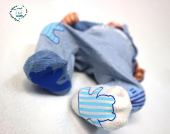 Baby Theo mit bärlianzug